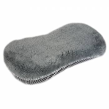 Gąbka - mikrofibra z siatką