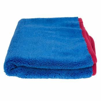Ręcznik z mikrofibry 40 cm x 60 cm FLUFFY BLUE POWER