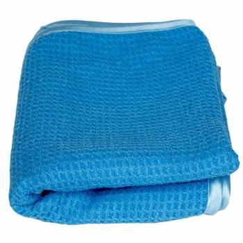 Ręcznik waflowy BLUE LAGOON do osuszania 60 cm x 80 cm