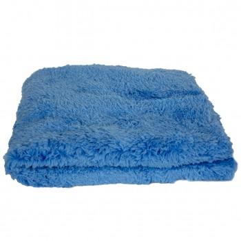 Bezszwowa Mikrofibra 40 cm x 40 cm BLUE