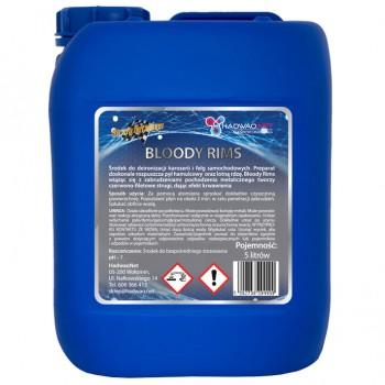 Preparat do czyszczenia (deironizacji) felg samochodowych - Bloody Rims, 5 litrów