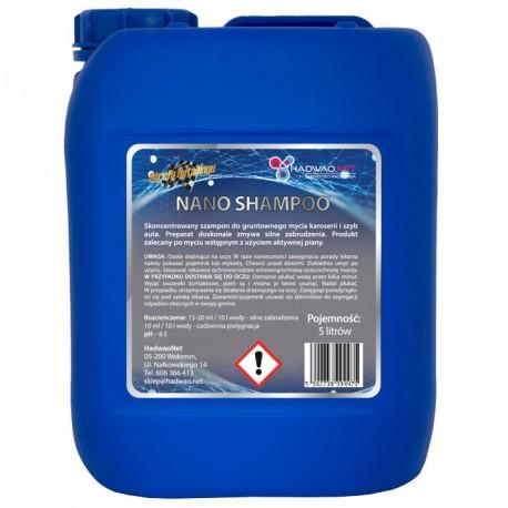 Szampon do mycia samochodu - Nano Shampoo, 5 litrów