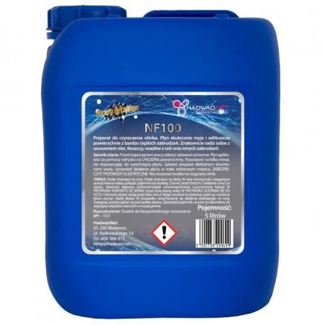 Płyn do mycia silnika- NF 100, 5 litrów