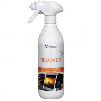 Środek do czyszczenia piekarnika, grili, rusztów, szyb kominkowych z dodatkiem aktywnych cząstek srebra - Remover, 500 ml