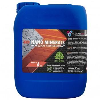 Impregnat hydrofobowy do powierzchni mineralnych - Nano Minerals, 5 litrów