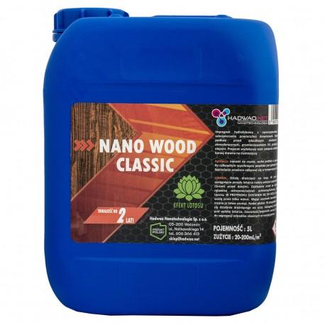 Impregnat do drewna, Nano Wood Classic, 5 litrów