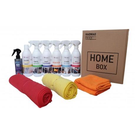 Zestaw 6 środków do czyszczenia domu
