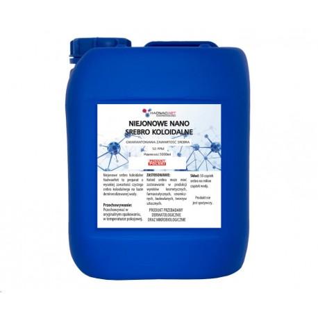 Srebro koloidalne 50 ppm - 1000 ml