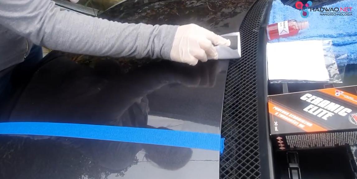 Ceramiczna powłoka do lakieru samochodowego