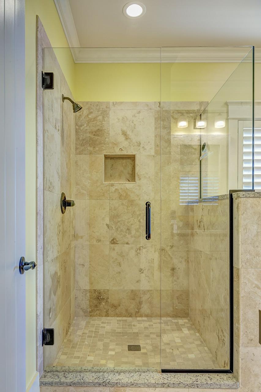 czyszczenie kabiny prysznicowej z nano powłoką