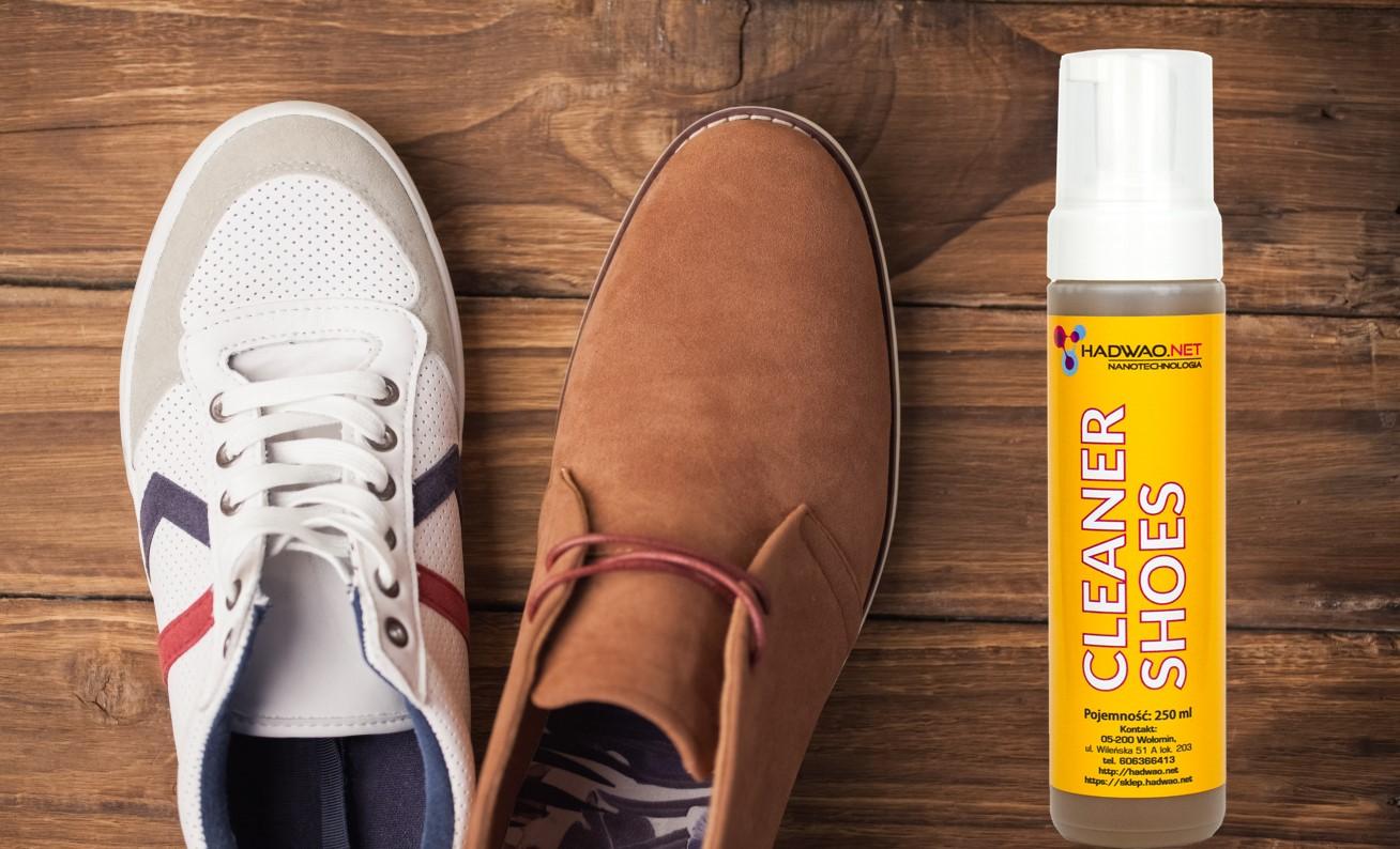 pianka do czyszczenia butów